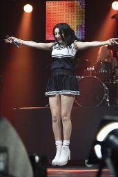Charli XCX Performs at the Metro Radio Live Christmas Show - November 2014
