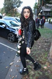 Charli XCX Style - Leaving the DWTS Show in Melbourne - November 2014