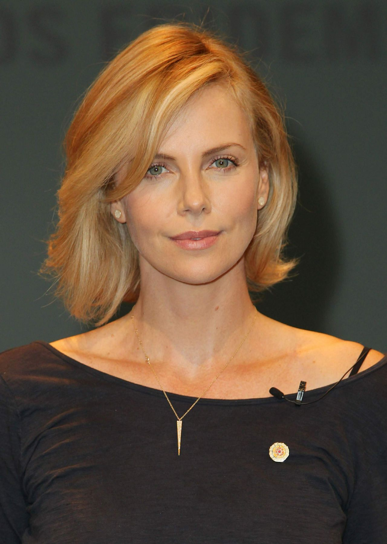 Charlize Theron Launch Of Unaids New Fast Track Report