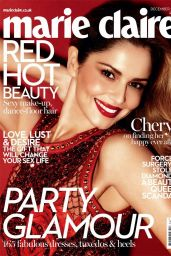 Cheryl Fernandez-Versini - Marie Claire Magazine (UK) December 2014 Issue