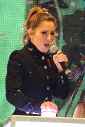 Cheryl Fernandez-Versini - Switches on the Oxford Street Christmas Lights in London - Nov. 2014
