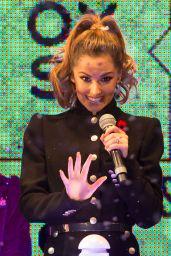 Cheryl Fernandez-Versini - Switches on the Oxford Street Christmas Lights in London - Nov. 2014