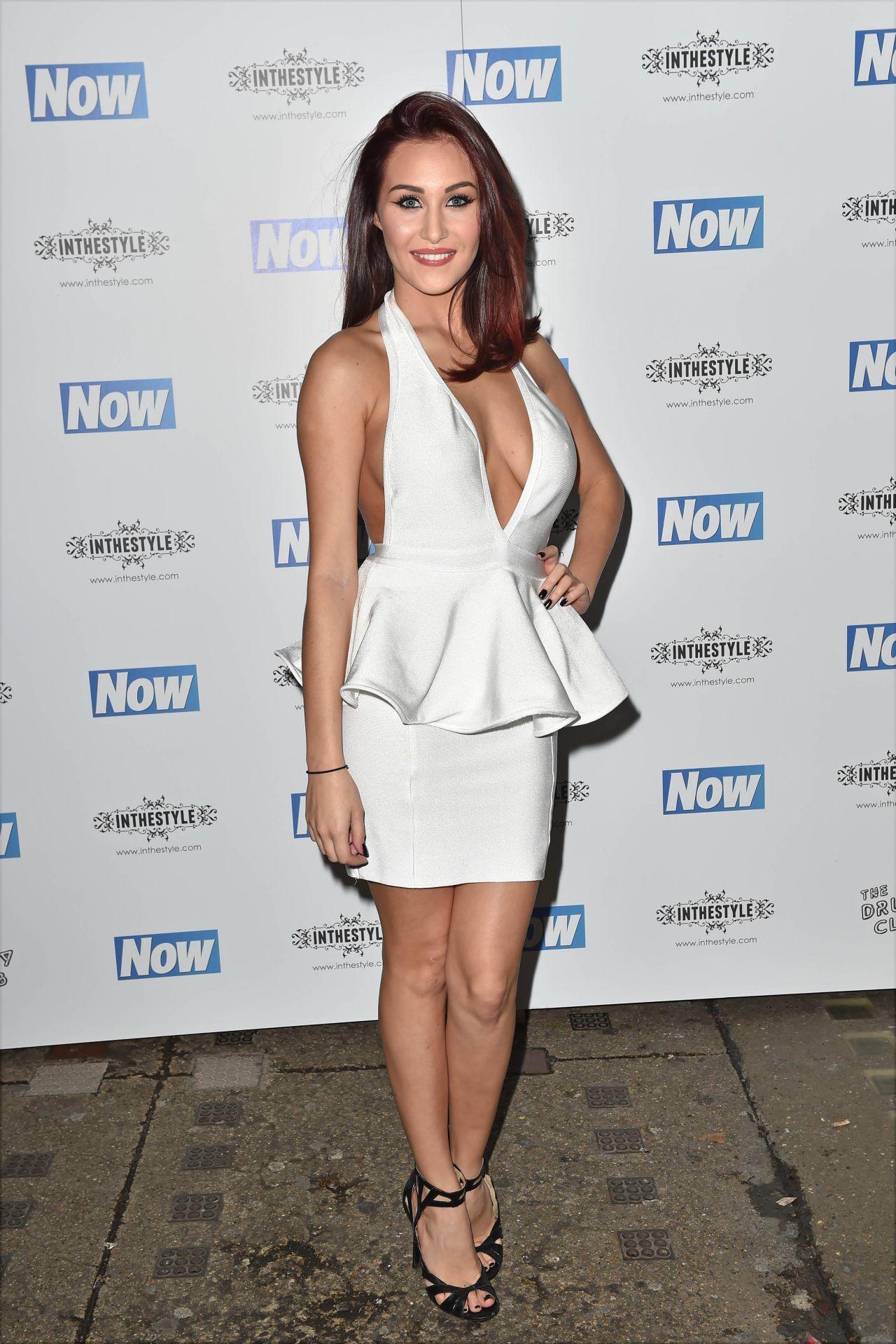 Chloe Goodman – NOW Christmas Party in London – November 2014