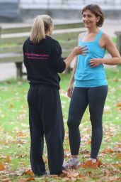 Chloe Madeley - Personal Trainer Workout in a North London Park