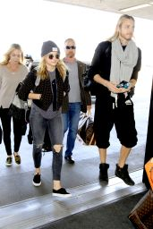 Chloe Moretz Street Fashion - at LAX Airport, November 2014