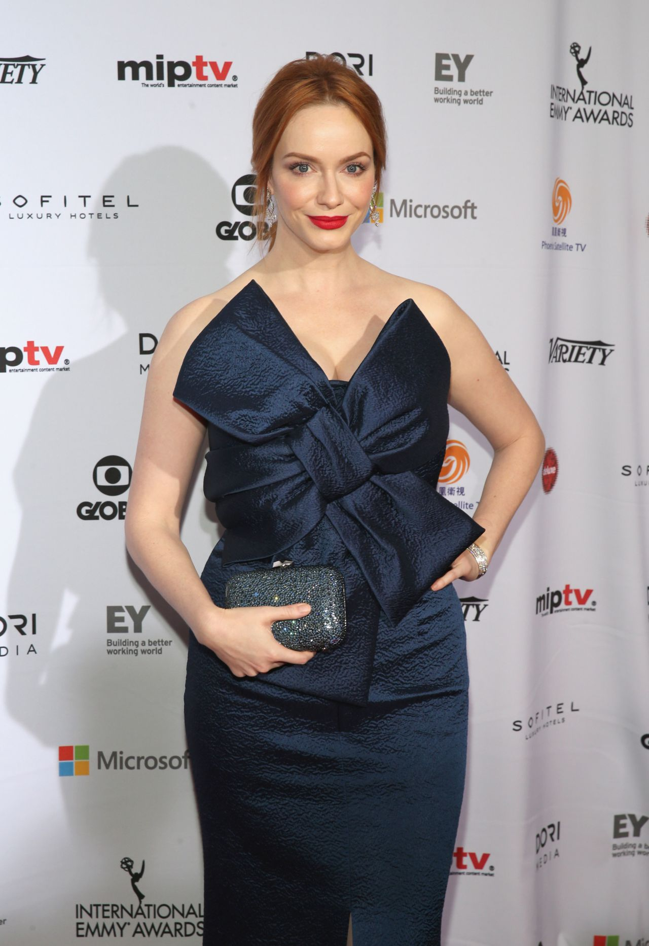 Christina Hendricks - 2014 International Academy Of Television Arts & Sciences Emmy Awards in New York City