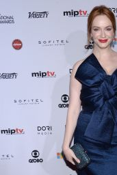 Christina Hendricks - 2014 International Academy Of Television Arts & Sciences Emmy Awards in New York City