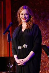 Christina Hendricks Perfoms on Stage - David Burtka