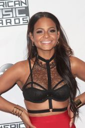 Christina Milian - 2014 American Music Awards (Press Room)