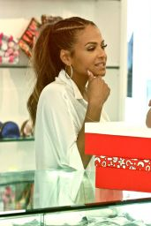 Christina Milian Fashion - Kyle Richards Store in Beverly Hills - November 2014
