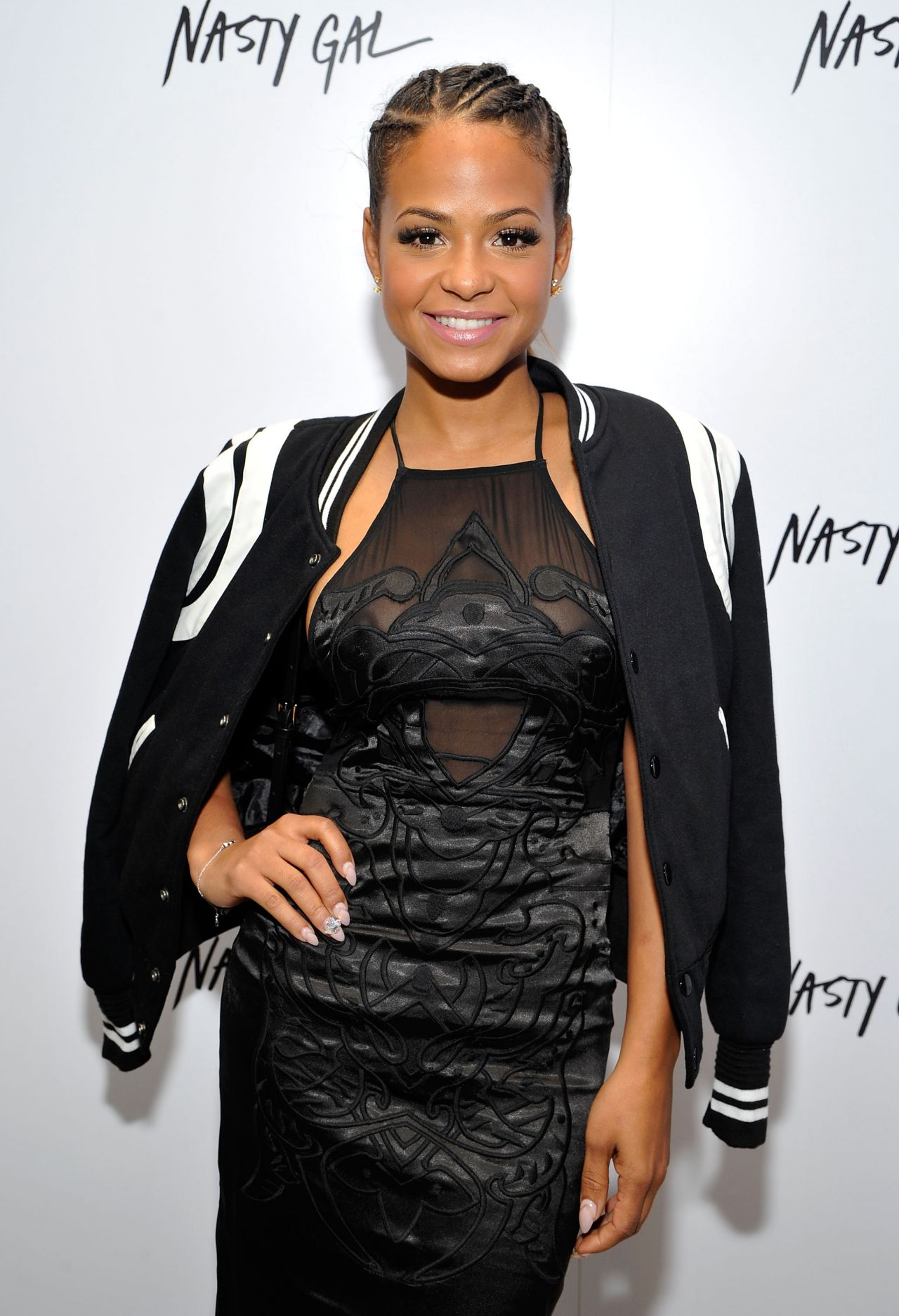 Christina Milian – Nasty Gal Melrose Store Launch in Los Angeles