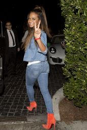 Christina Milian Night Out Style - Cecconi