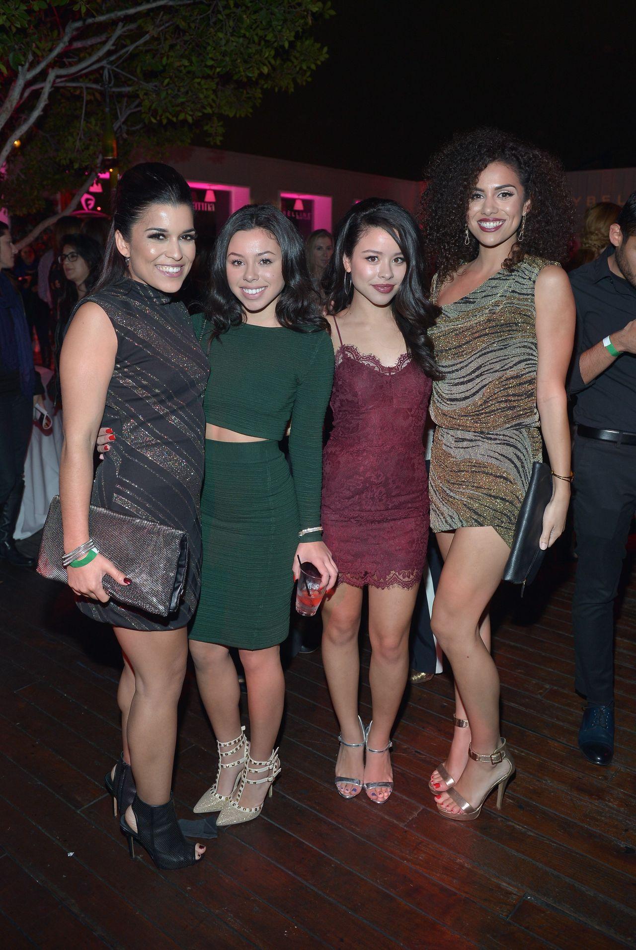 Cierra Ramirez At Latina Magazine S 30 Under 30 Party In