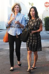 Courteney Cox Street Style - Out in Beverly Hills - November 2014