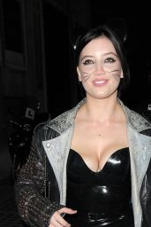 Daisy Lowe - Death of a Geisha Halloween 2014 Party in London