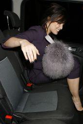 Daisy Lowe - Leaving SushiSamba 2014 party in London