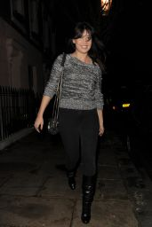 Daisy Lowe Street Style - Leaving Her Home in London - November 2014