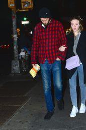 Dakota Fanning and Her Boyfriend, Model Jamie Strachan - Out in New York City - November 2014