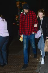 Dakota Fanning  and Her Boyfriend, Model Jamie Strachan - Out in New York City - November 2014