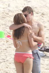Demi Harman in a Bikini at a Beach in Sydney - November 2014