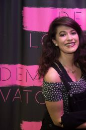 Demi Lovato - Her Meet & Greet in Dublin, Ireland, November 2014