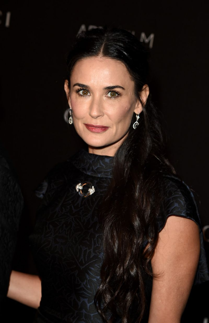 Demi Moore - 2014 LACMA Art + Film Gala in Los Angeles
