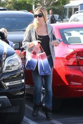 Denise Richards - Shopping at Fred Segal on Melrose in West Hollywood - November 2014