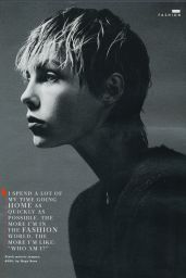 Edie Campbell - Style Magazine November 2nd 2014 Issue