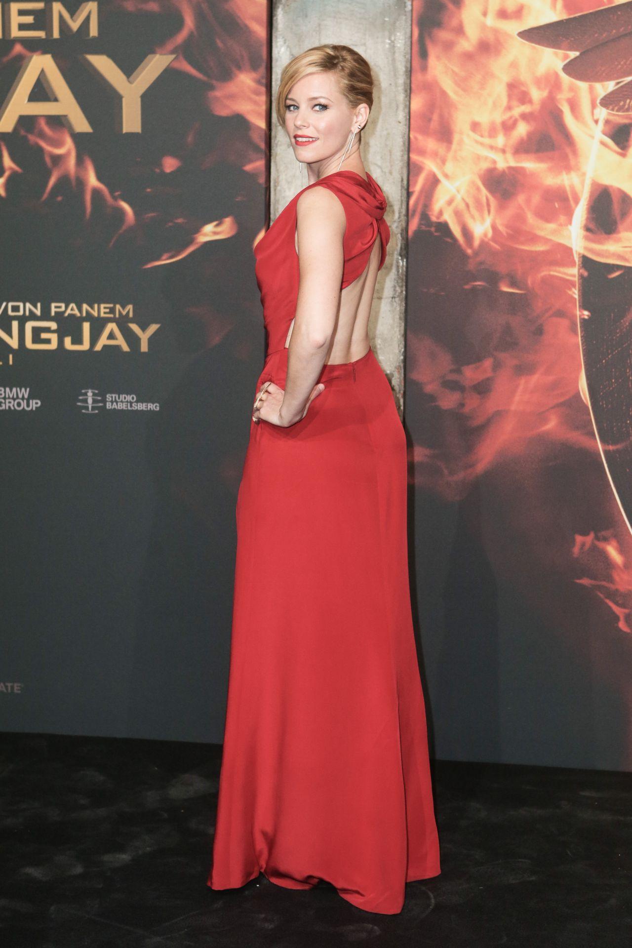 Elizabeth Banks The Hunger Games Mockingjay Part 1