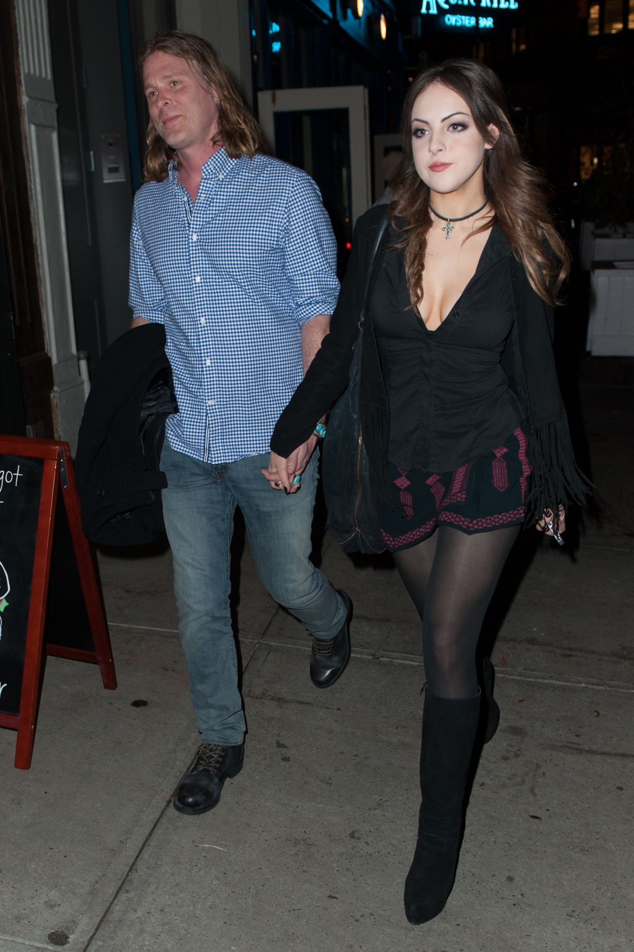 Elizabeth Gillies Night Out Style Out In Nyc November 2014