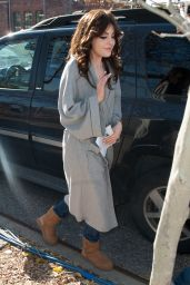 Elizabeth Gillies - Out in New York City, Nov. 2014