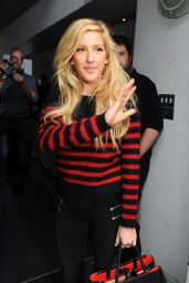 Ellie Goulding - Arrives for
