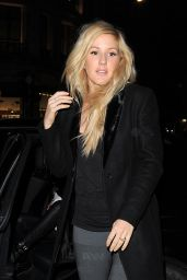 Ellie Goulding - Arriving at the H&M Alexander Wang Launch - November 2014