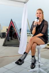 Ellie Goulding Leggy - Bacardi Triangle Event in Puerto Rico