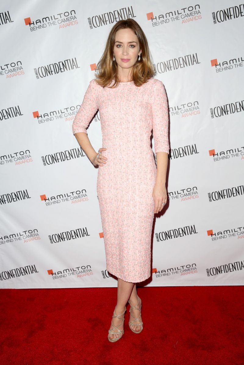 Emily Blunt - 2014 Hamilton Behind the Camera Awards in Los Angeles