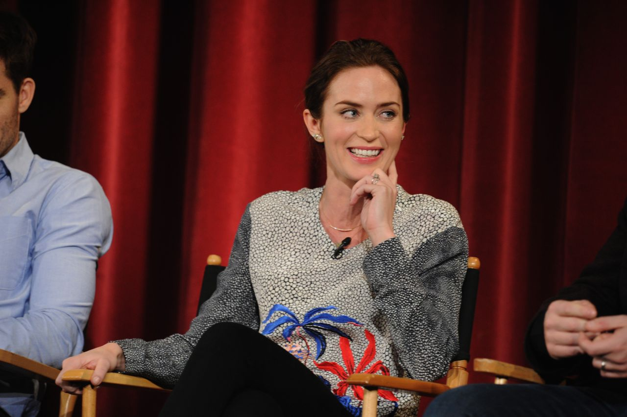Emily Blunt - Into the Woods Q&A in New York City - November 2014
