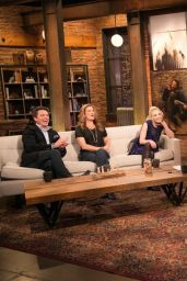 Emily Kinney Tapes an Appearance on Talking Dead - November 2014