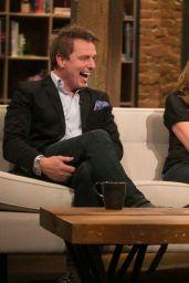 Emily Kinney Tapes an Appearance on Talking Dead - November 2014