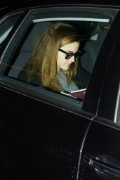 Emma Watson at the Airport in Berlin - November 2014