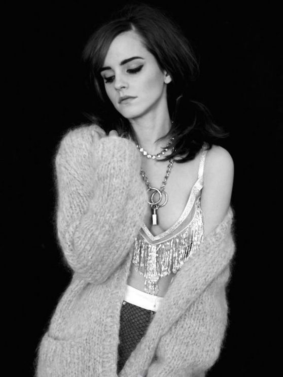 Emma Watson - Photoshoot for Elle Magazine (2014)