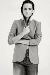 Emma Watson - Photoshoot for Elle Magazine (UK) December 2014