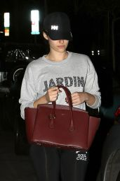 Emmy Rossum Casual Style - Out in the Evening in Los Angeles, November 2014