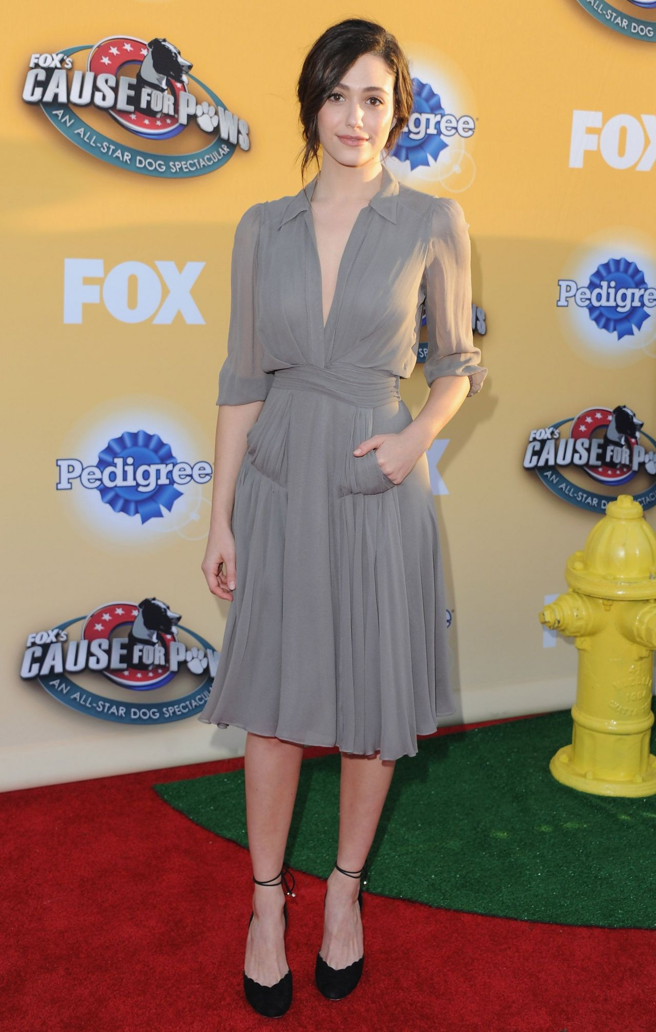 Emmy Rossum – FOX's Cause For PawsAn All-Star Dog Spectacular in Santa Monica