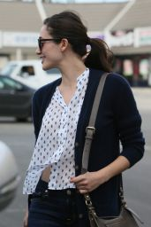 Emmy Rossum In Jeans - out in Los Angeles - October 2014