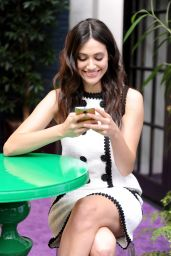 Emmy Rossum - Moto X Film Experience Premiere in West Hollywood - November 2014