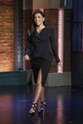 Eva Longoria Appeared on Late Night with Seth Meyers - November 2014