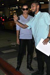 Eva Longoria Arrives at Los Angeles International Airport - November 2014