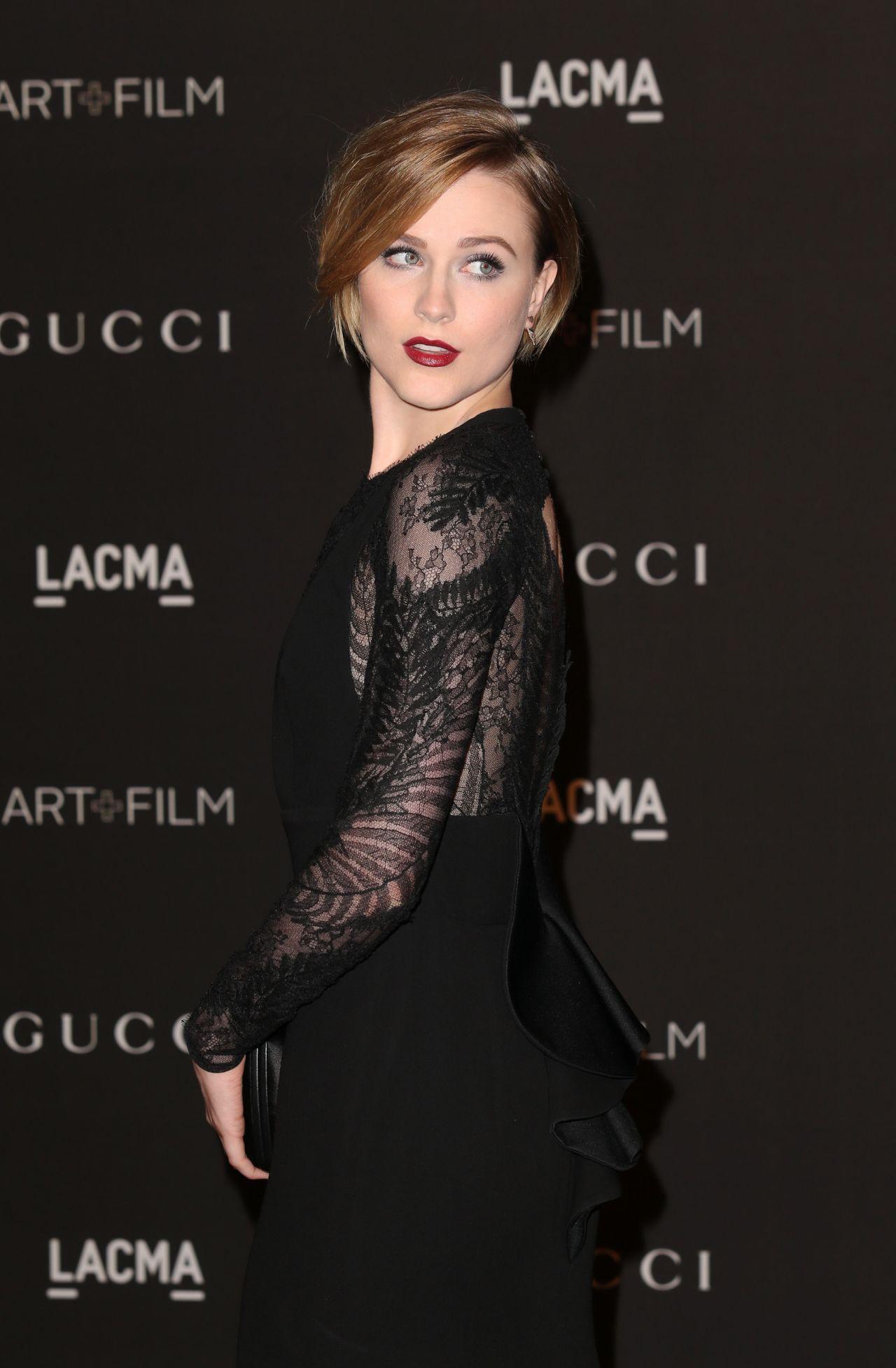 Evan Rachel Wood – 2014 LACMA Art + Film Gala in Los Angeles