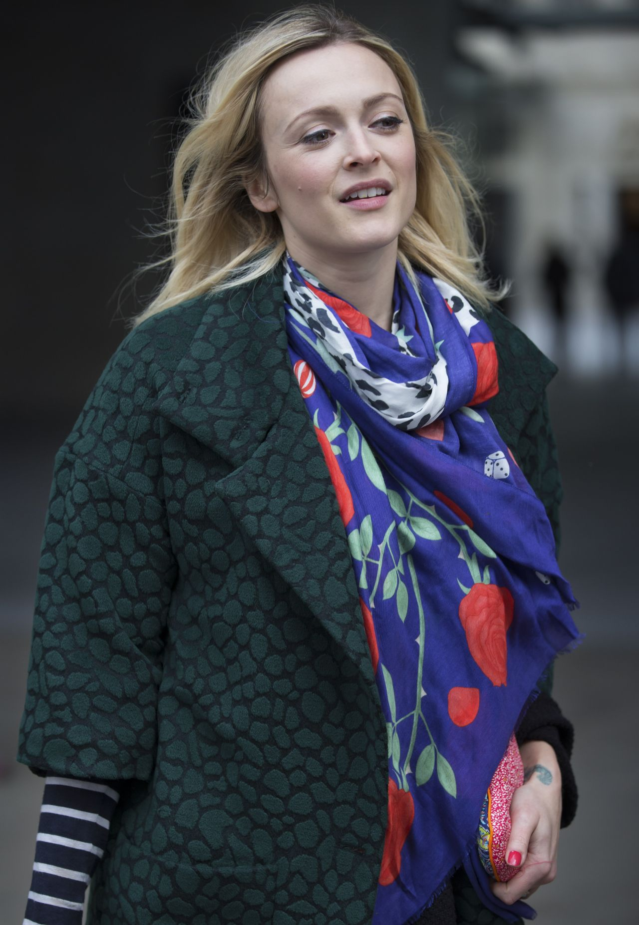Fearne Cotton Leaving The Bbc Radio 1 Studios In London