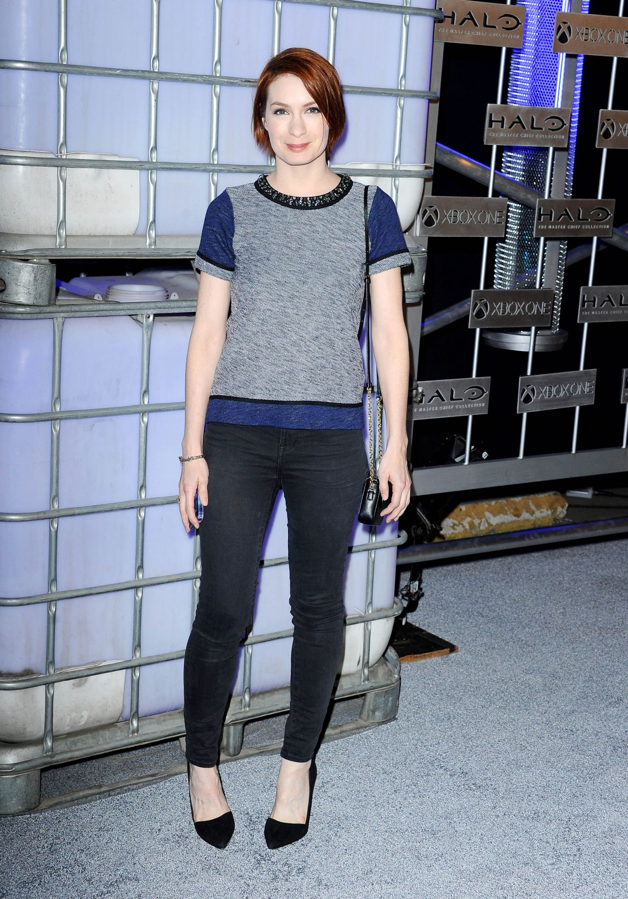 "Felicia Day - HaloFest ""Halo: The Master Chief Collection"" Launch Event in Hollywood"